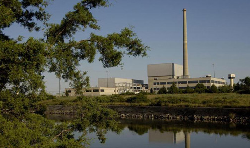 Nuclear power plant back online after planned outage