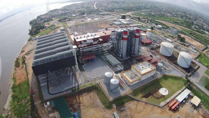 power plant in Ivory Coast