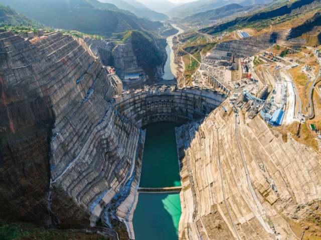 Baihetan hydropower China