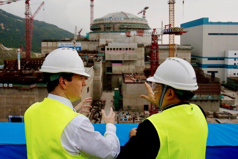Taishan Nuclear plant China
