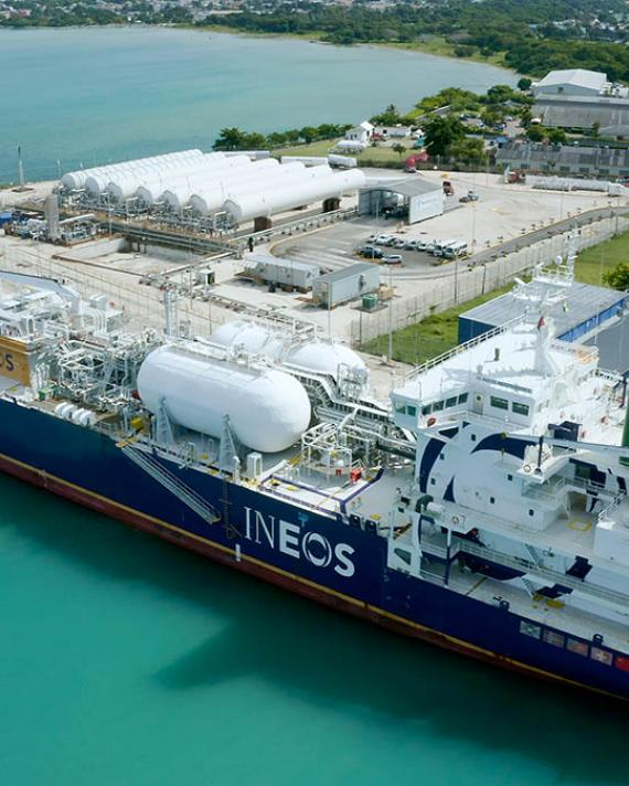 New LNG terminal to supply Mexican gas-fired power plants