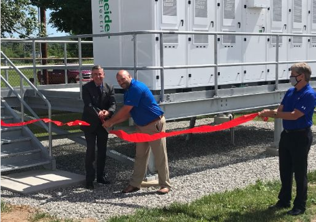 AEP Ohio builds solar + battery powered microgrid for outage management at water treatment plant