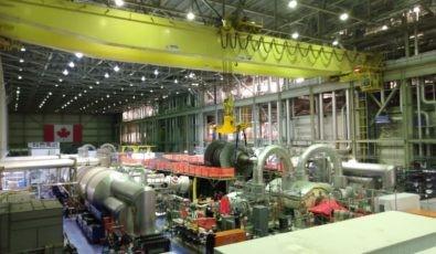 Darlington Unit 3 turbine work