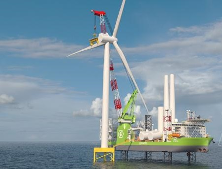 Doosan Heavy supplying 25-ton components for offshore wind installation vessels