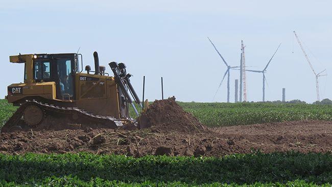 Ledyard wind power project Iowa