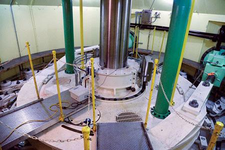 Lewiston hydro plant